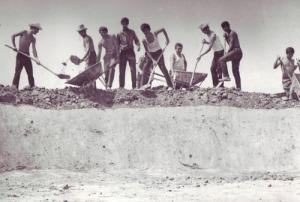1981_Santierul Local al Tineretului de la Crivina - Vanju Mare