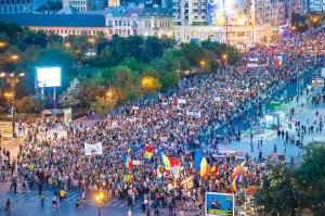 Rosia Montana Demostration