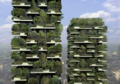 Bosco Verticale by Stefano Boeri Architetti. Scheduled to open in Milan in 2015.
